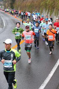 鹿児島マラソン2017 竜ヶ水